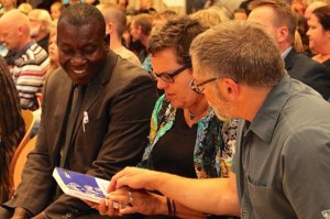 This is me, Rob (husband) and Dr. Achanso at the Ghana Song Fest in Denmark, Fall 2014.